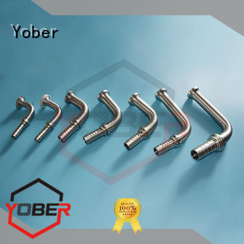 Yober hot sale stainless hose fittings design for washdowm