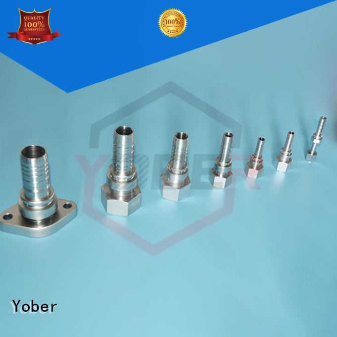 Yober hydraulic hose fitting customized for oilfield
