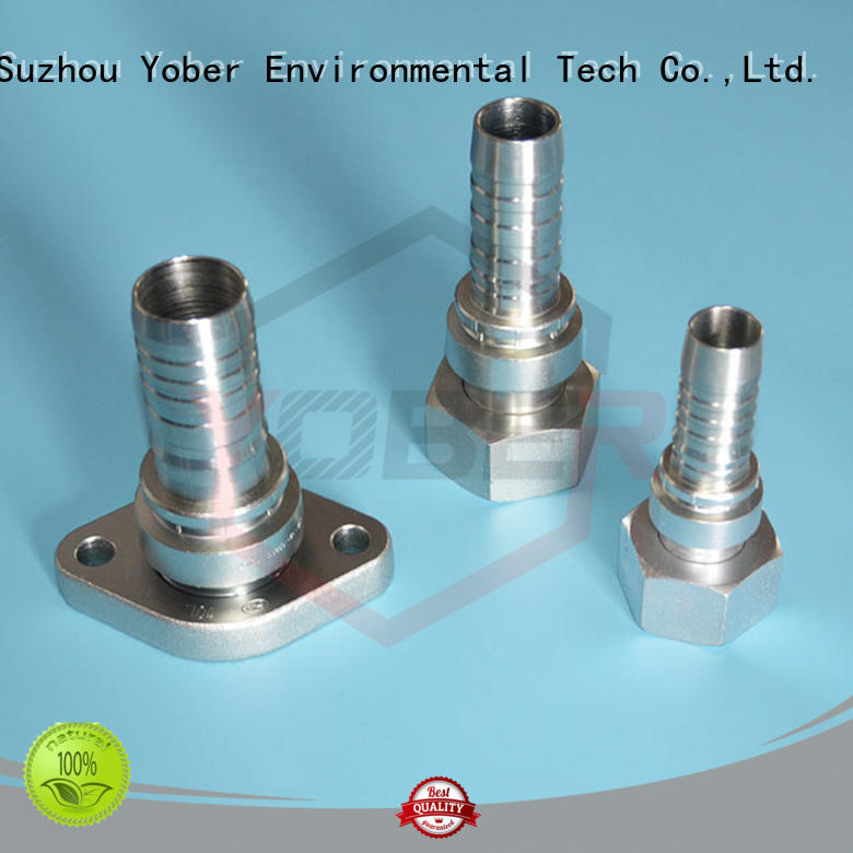 Yober 45°bent hydraulic fitting design for oilfield