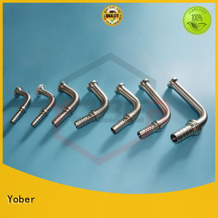 Yober heavy duty hydraulic fitting directly sale for agricultural machines