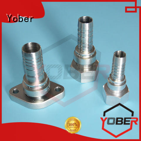 Yober male and female threaded hydraulic fitting manufacturer design for machine tools and industrial plants