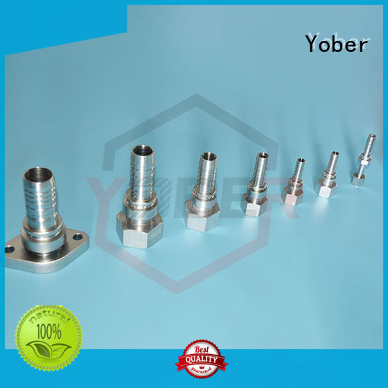 Yober flange hydraulic fitting factory direct supply for machine tools and industrial plants