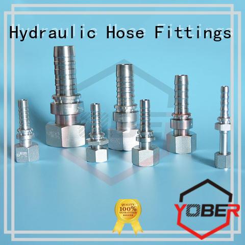 long lasting hydraulic hose crimp fittings series for washdowm