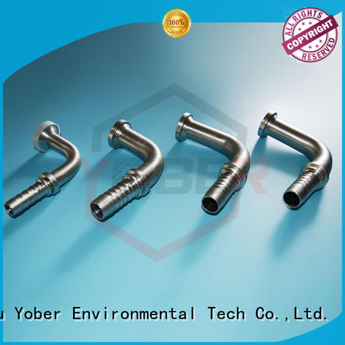 Yober long lasting hydraulic flange fittings customized for machine tools and industrial plants