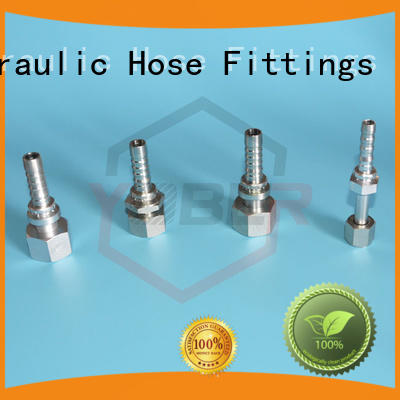 45°bent hydraulic tube fittings customized for aircraft refueling