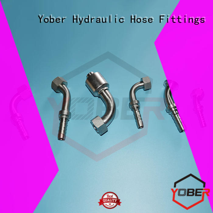 Yober reliable hose fittings design for machine tools and industrial plants
