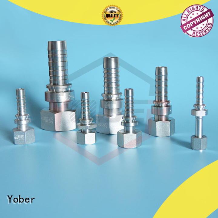 Yober high quality hose fittings customized for aircraft refueling
