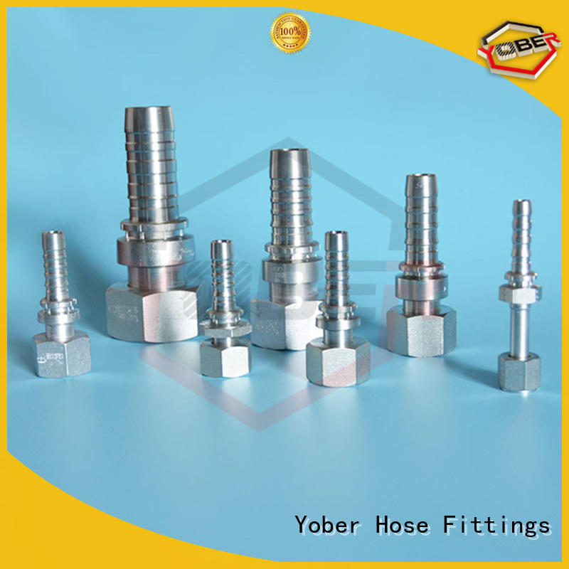 long lasting hose pipe fittings customized for aircraft refueling