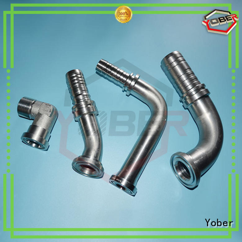 Yober hot sale stainless hose fittings directly sale for agricultural machines