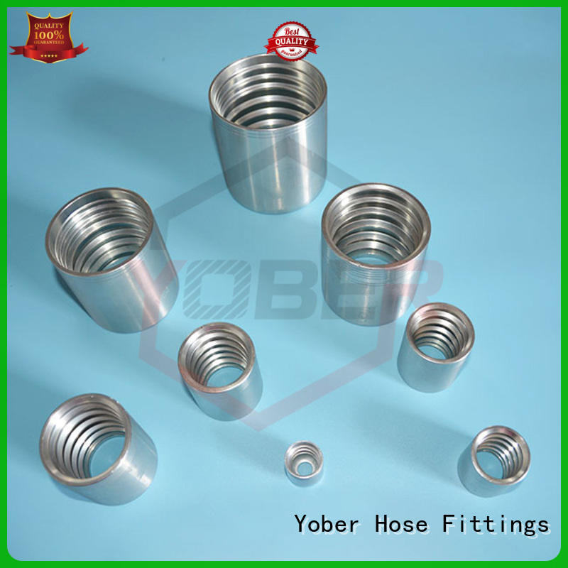 Yober professional hose ferrule customized for instruments and meters