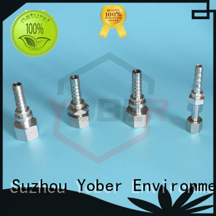 heavy duty flange hydraulic fitting series for washdowm