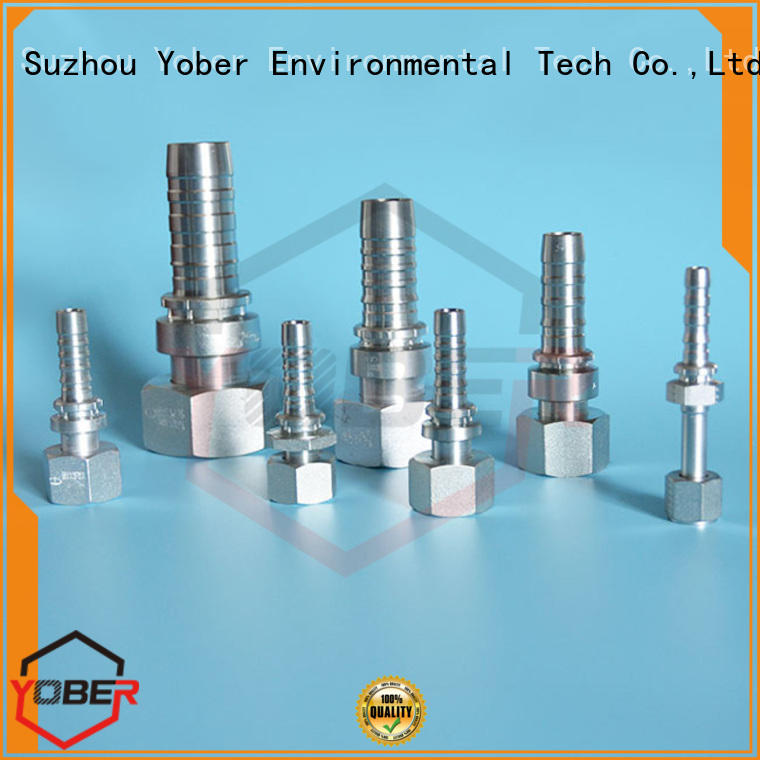 Yober high quality stainless hose fittings series for oilfield